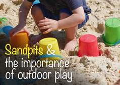 Sandpits and the Importance of Outdoor Play