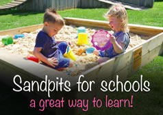 Sandpits For Schools - A Great Way to Learn