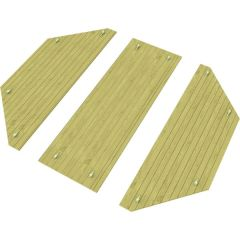 Heavy Duty Wooden Lid for 10ft Octagonal Sand Pit