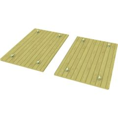 Heavy Duty Wooden Lid for 2m x 1.5m Sand Pit