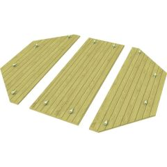 Heavy Duty Wooden Lid for 8ft Octagonal Sand Pit