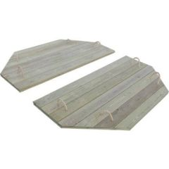 Heavy Duty Wooden Lid for 6ft Octagonal Sand Pit