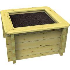Raised Garden Bed – 1.5m x 1.5m – 831mm Height