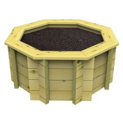 Raised Garden Bed – 10ft Octagonal – 295mm Height