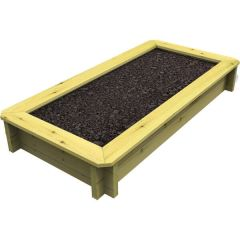Raised Garden Bed – 1m x 0.5m – 429mm Height