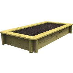 Raised Garden Bed – 1m x 0.5m – 563mm Height