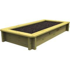 Raised Garden Bed – 2m x 0.5m – 697mm Height