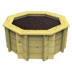 Raised Garden Bed – 6ft Octagonal – 429mm Height