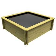 Wooden Pond 1.5m x 1.5m – 697mm Height – 44mm Thick Wall