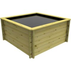 Wooden Pond 2m x 2m – 831mm Height – 44mm Thick Wall