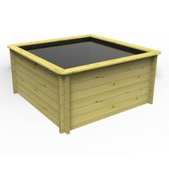 Wooden Pond 2m x 2m – 965mm Height – 44mm Thick Wall